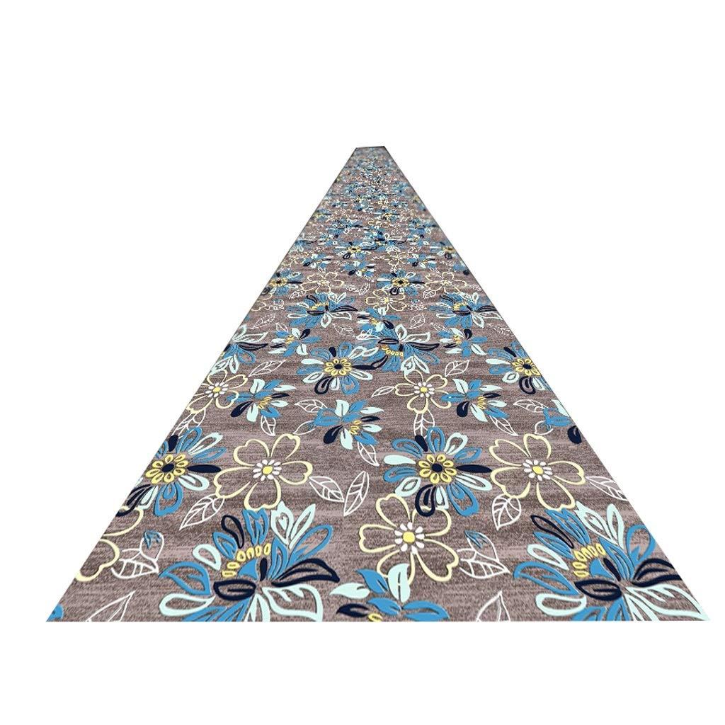 OZYN Teppich Teppiche Flurteppich Flurteppich Flurteppich Läufer Lang Noblesse Schmutz Stopper Rutschfeste Waschbar Strapazierfähig 6mm (Farbe   A, größe   80x300cm) B07MT99Y43 Teppiche 811180