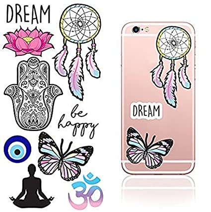 Amazoncom IDecoz Dream Reusable Vinyl Decal Sticker Sheet For - Vinyl decals for phone cases