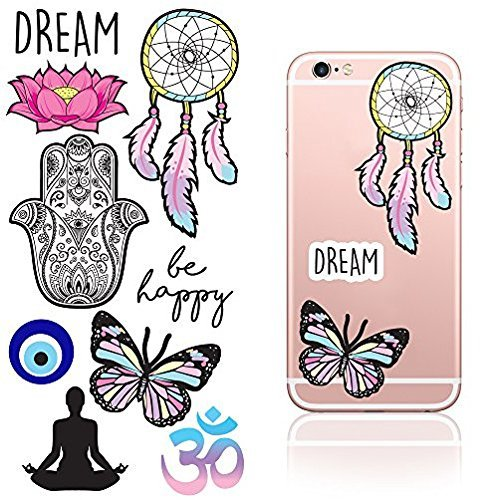 iDecoz Dream Reusable Reusable Vinyl Decal Stickers for all