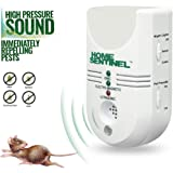 Aspectek - 5-in-1 Home Sentinel - Indoor Pest Control Pest Repeller Pest Repellent Mosquito Repellent with Ultrasonic Electromagnetic Moth Guard, Fruit Flies Repeller Ionizer & Auto Night Light