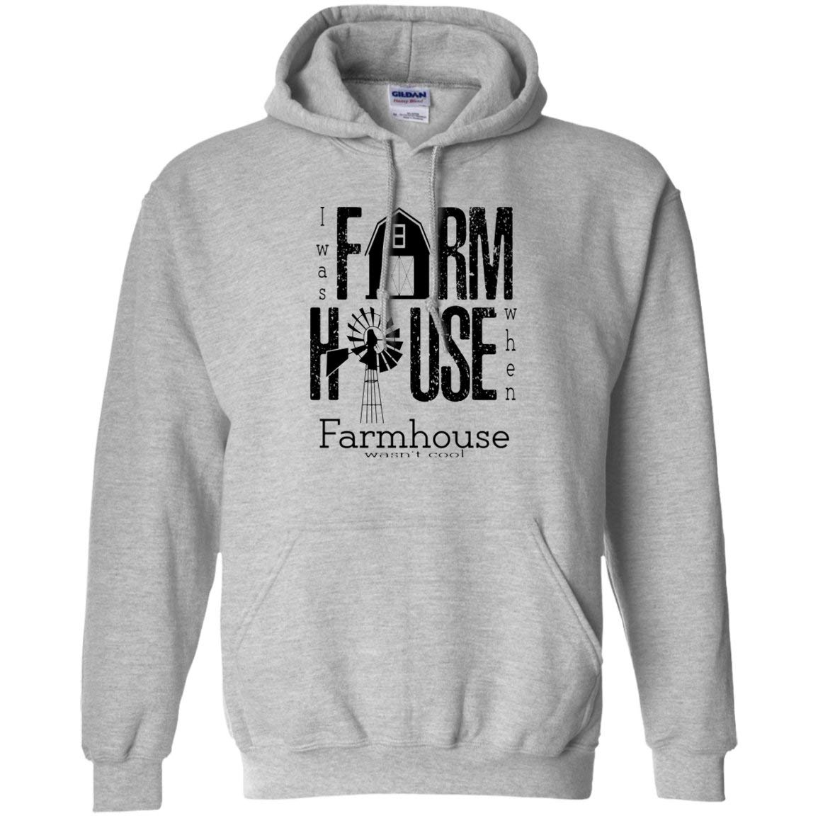 Farmhouse Gildan Pullover Sport Grey