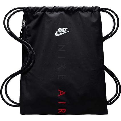 Nike Heritage Gym Sack Black Black University RED  Amazon.in  Sports ... 4eeffa6e917dc