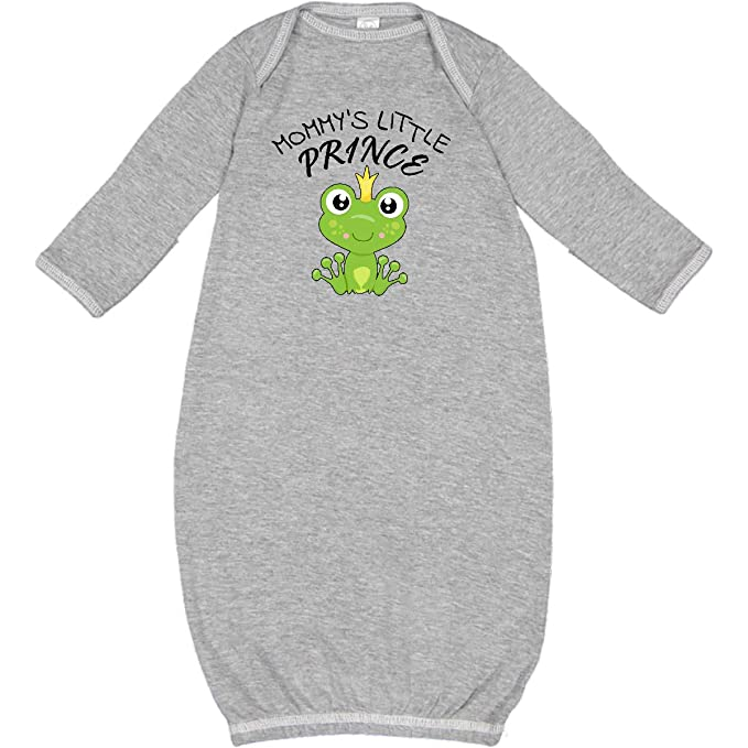 0276a2db5882 Amazon.com  inktastic - Mommy s Little Prince- Cute Frog Newborn ...