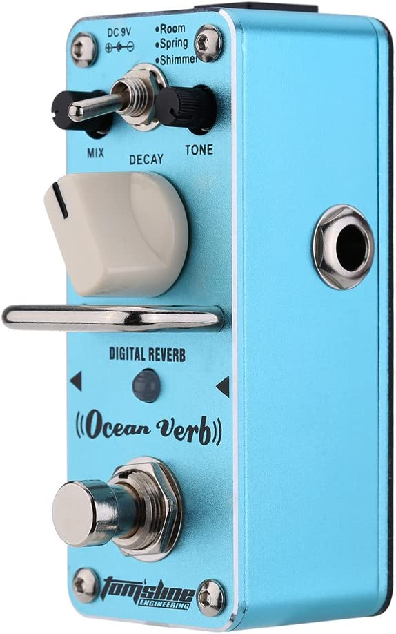 ammoon AROMA Océano AOV-3 Verbo Reverb Digital Guitarra Eléctrica Pedales Mini Solo Efecto con True Bypass
