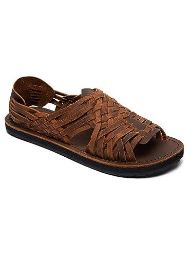 b7c989696252 Quiksilver Hurache - Sandales en Cuir pour Homme AQYL100781  Quiksilver   Amazon.fr  Chaussures et Sacs