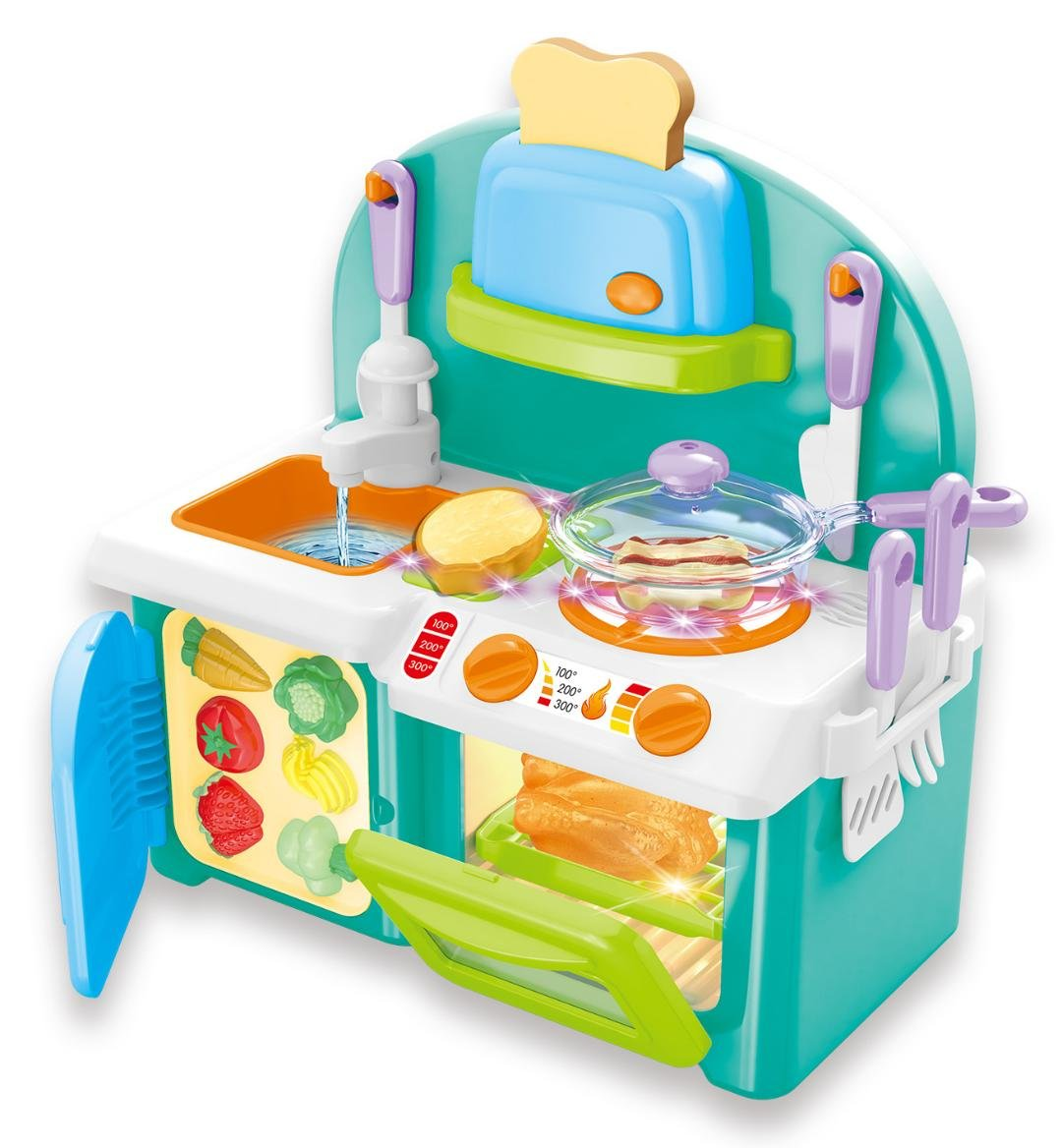 Buy ampersand shops mini chef kitchen cooking play set with lights and sound online at low prices in india amazon in
