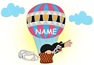 heißluftballon lampe kinderzimmer