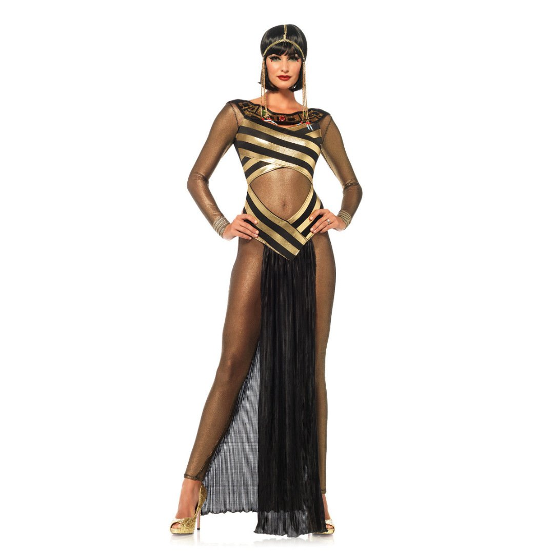 LLY l'europe Jeu Robe Halloween vêtements Sexy Transparent Costumes de scène de Cosplay