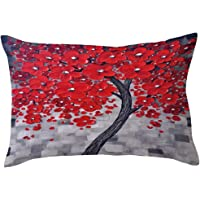 Pillow Cases,Lavany Pillow Covers Rectangle Flower Tree Pillowcases Cushion Home Car Sofa Decorative New