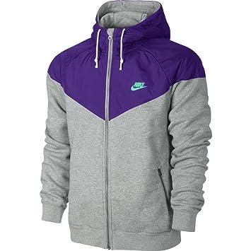 Nike Fleece Hooded Ru Jacket Futura Men's LMensJacke Ibyf7Y6gv