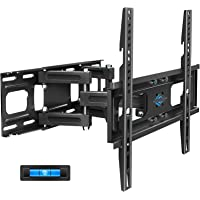 BLUE STONE Full Motion TV Wall Mount Bracket with Height Setting for Most 27-65 inch up to 121 lbs,VESA 400x400 mm,Dual…
