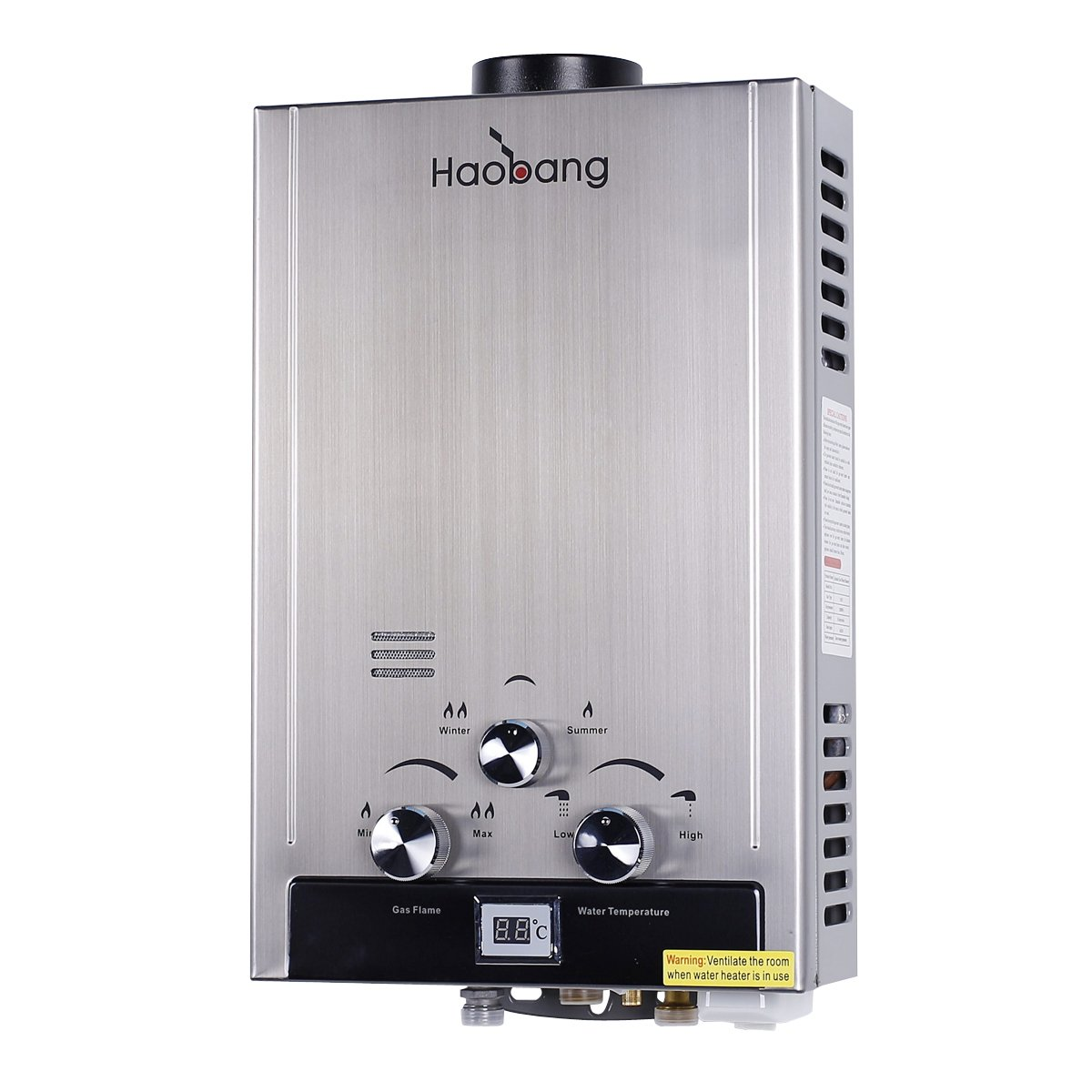 haobang Tankless calentador eléctrico de agua Istante jsd12-s01 6L/Min 12 KW: Amazon.es: Hogar