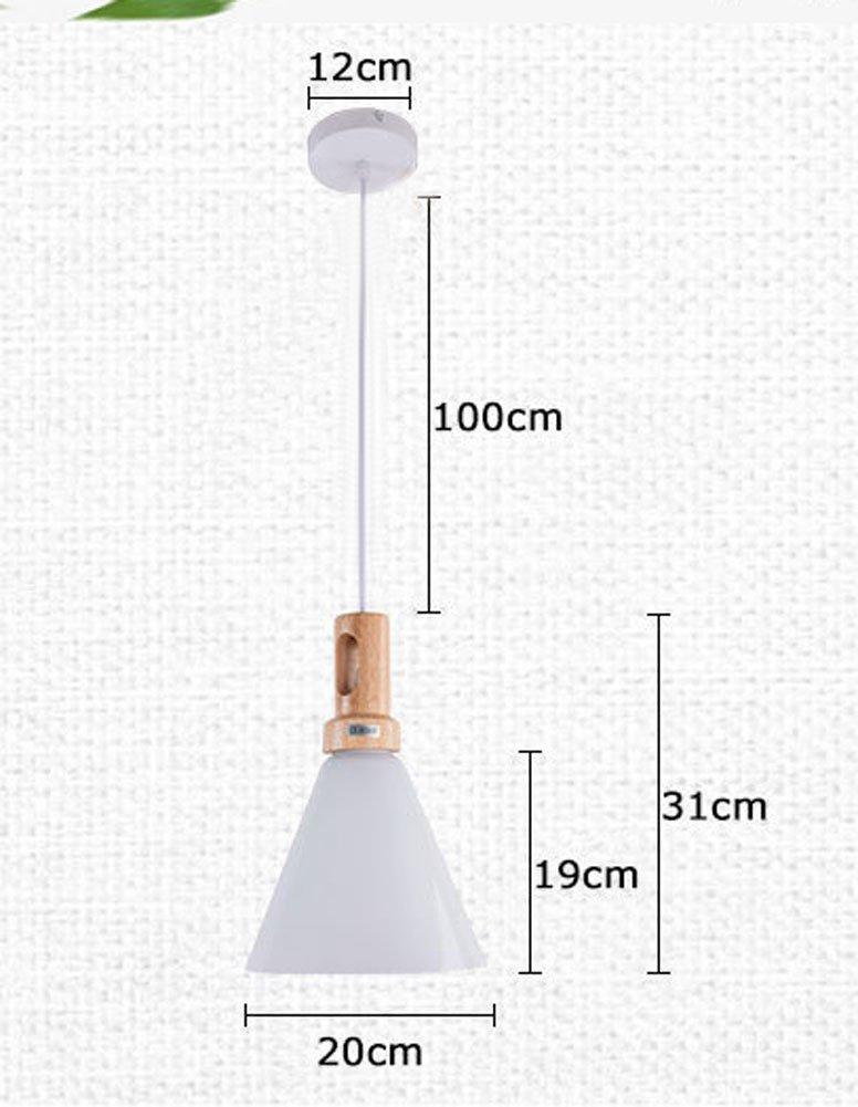 Cozyle Modern Minimalist Creative Wood Art Glass Lamp Shade Wood by Cozyle (Image #2)