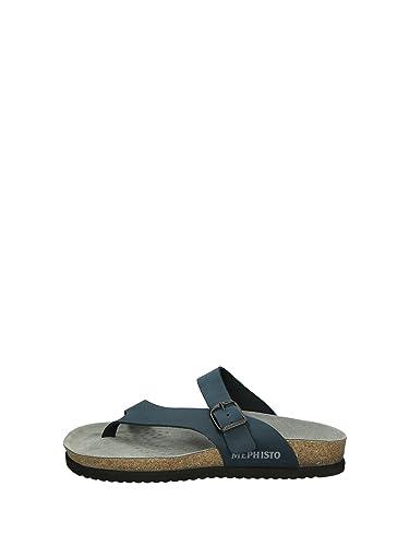 487109c836cd65 Mephisto Niels Tongs Homme Noir 42: Amazon.fr: Chaussures et Sacs