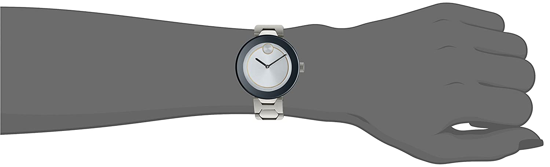 Movado Women s Swiss Quartz Stainless Steel Watch, Color Silver-Toned Model 3600381