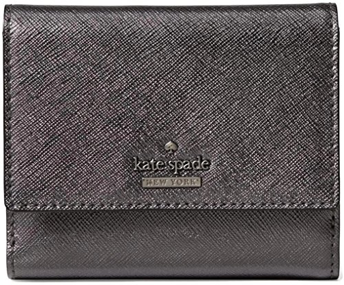 Kate Spade Cameron Street Tavy Trifold Wallet, Metallic (Twill Tri Fold Wallet)