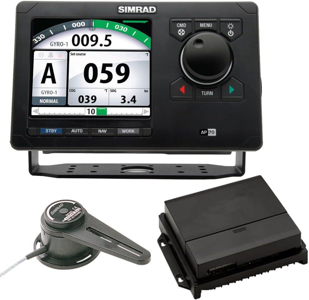 Simrad AP70 Autopilot Pack w/AP70, AC70, RF300 & Requiere tasa brújula RC42 (46143): Amazon.es: Deportes y aire libre