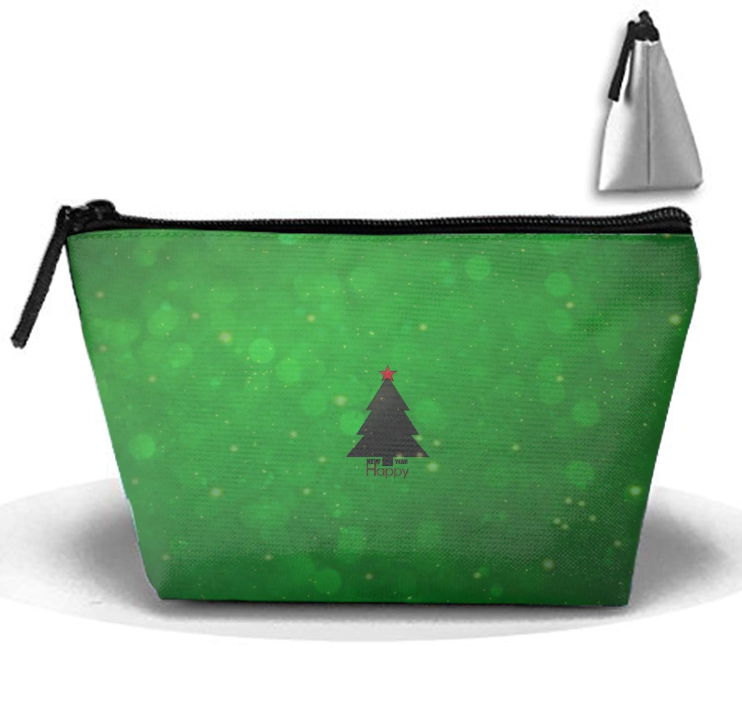 1ce7b0b25ef7 Amazon.com : Christmas Tree Ornaments Cosmetic travel Bag ...