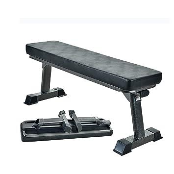 Amazon.com: Finer forma calidad de gimnasio banco de pesas ...