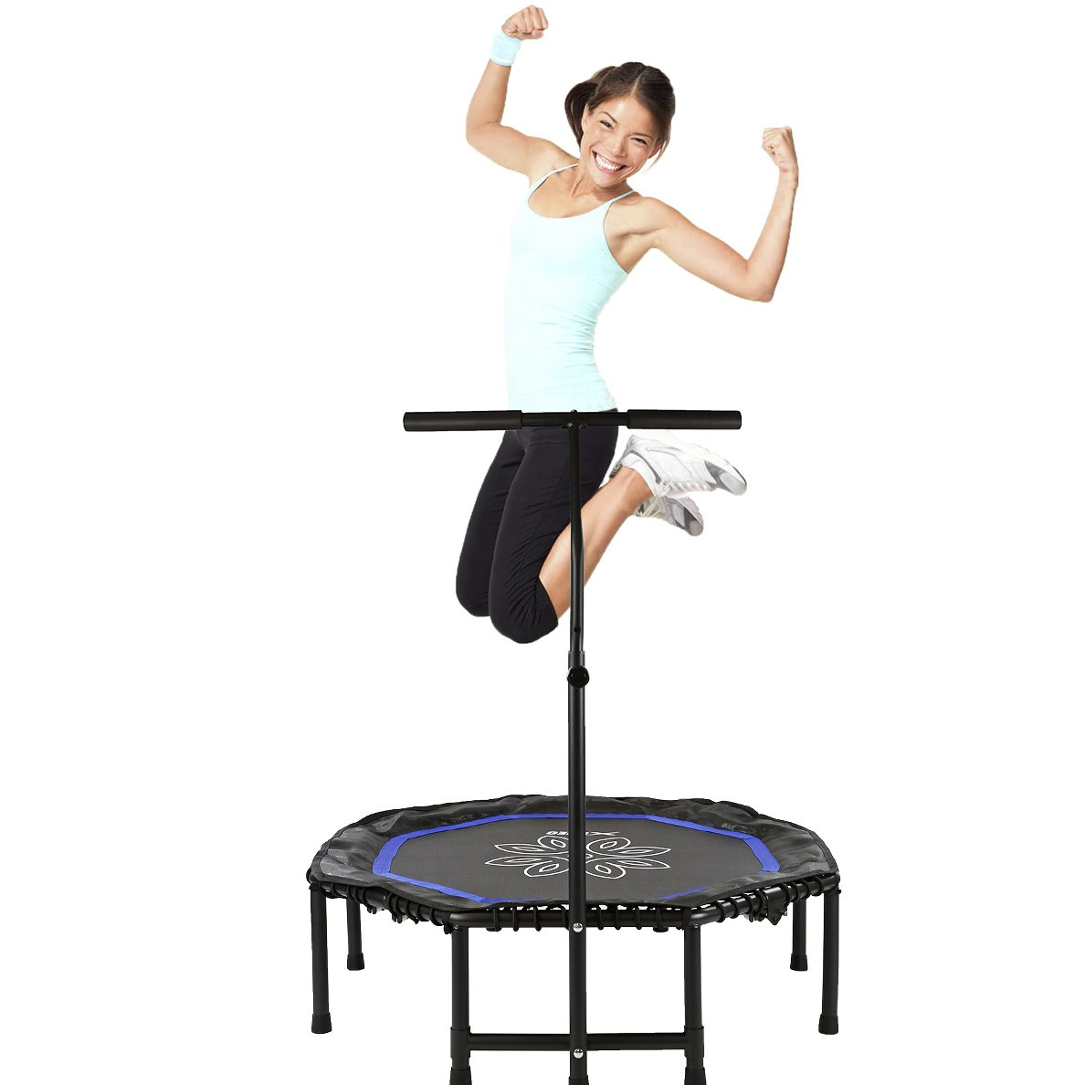 Best Mini Trampolines With Handlebars For Adults » Best