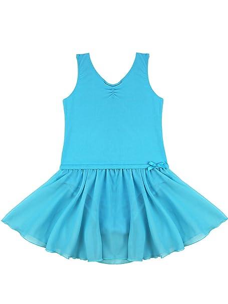 MSemis Vestido Danza Ballet para Niñas Maillot Danza Clásica con ...