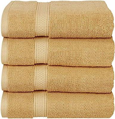 27 x 54 100/% Ring-Spun Cotton Towel Utopia Towels Premium Bath Towels Pack of 4