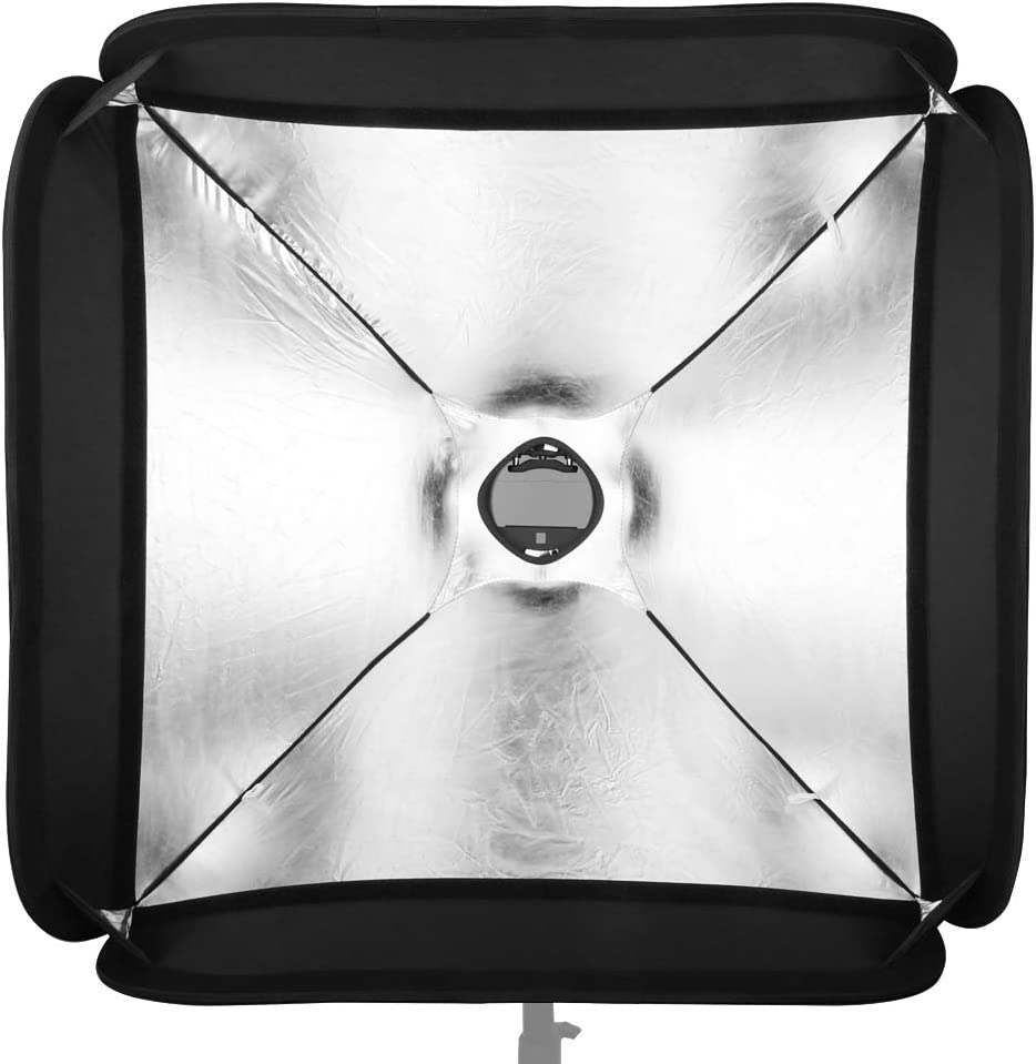 Godox 80x80cm Softbox Bag Kit for Camera Studio Flash fit Bowens Elinchrom Mount