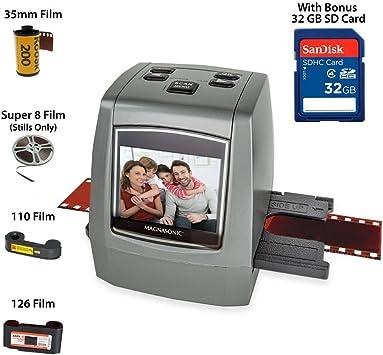 High Resolution Digital Photo 35mm Slide Film Scan 22 Mp 110 135 126kpk Scanner