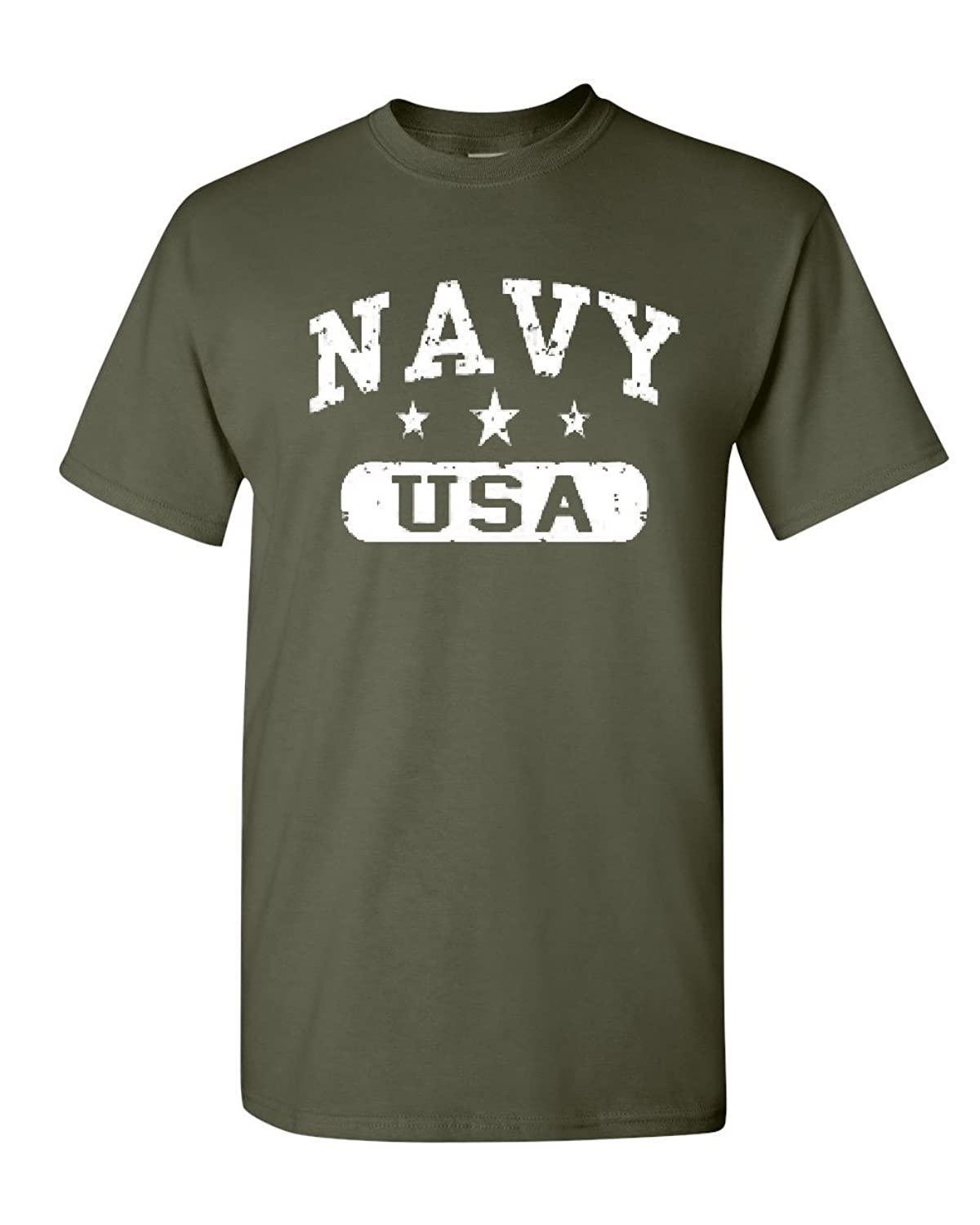 Navy USA T-Shirt United States Navy Military Tee Shirt