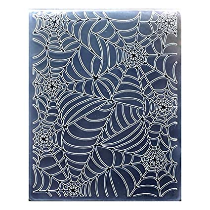 12.1x15.2cm Kwan Crafts Christmas Snowflake Plastic Embossing Folders for Card Making Scrapbooking and Other Paper Crafts