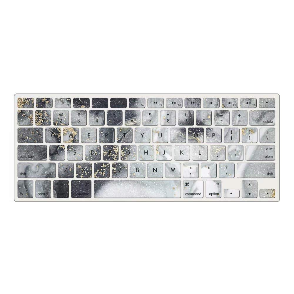 DL70 blue marble EU//UK Layout AQYLQ Keyboard Protector Cover Skin for MacBook Air 13 and MacBook Pro 13 15 17 with//without Retina Display