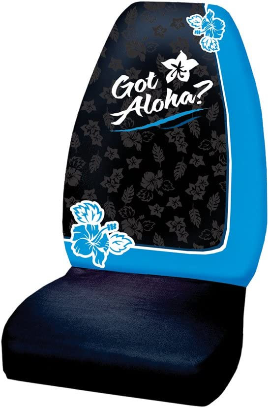 Plasticolor 006590R01 Got Aloha Sublimation Seat Cover Pack of 1