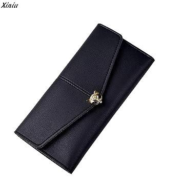 Amazon.com: 2017 Fashion Clutch Female Wallet Women Pu Leather Hasp Long Money Bags Handbag Carteras Mujer Monederos: Kitchen & Dining