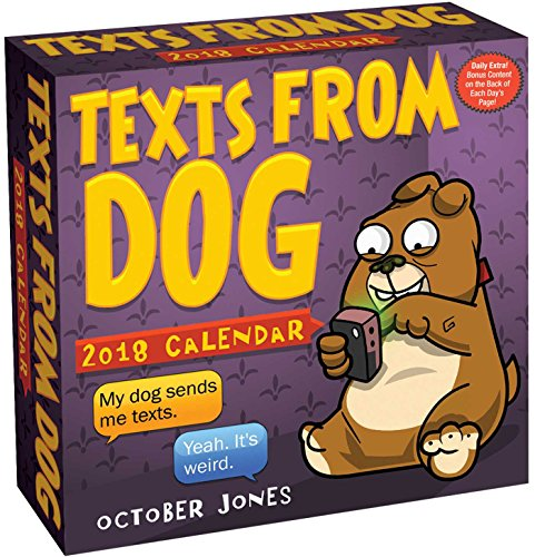 Texts from Dog 2018 Day-to-Day Calendar cover