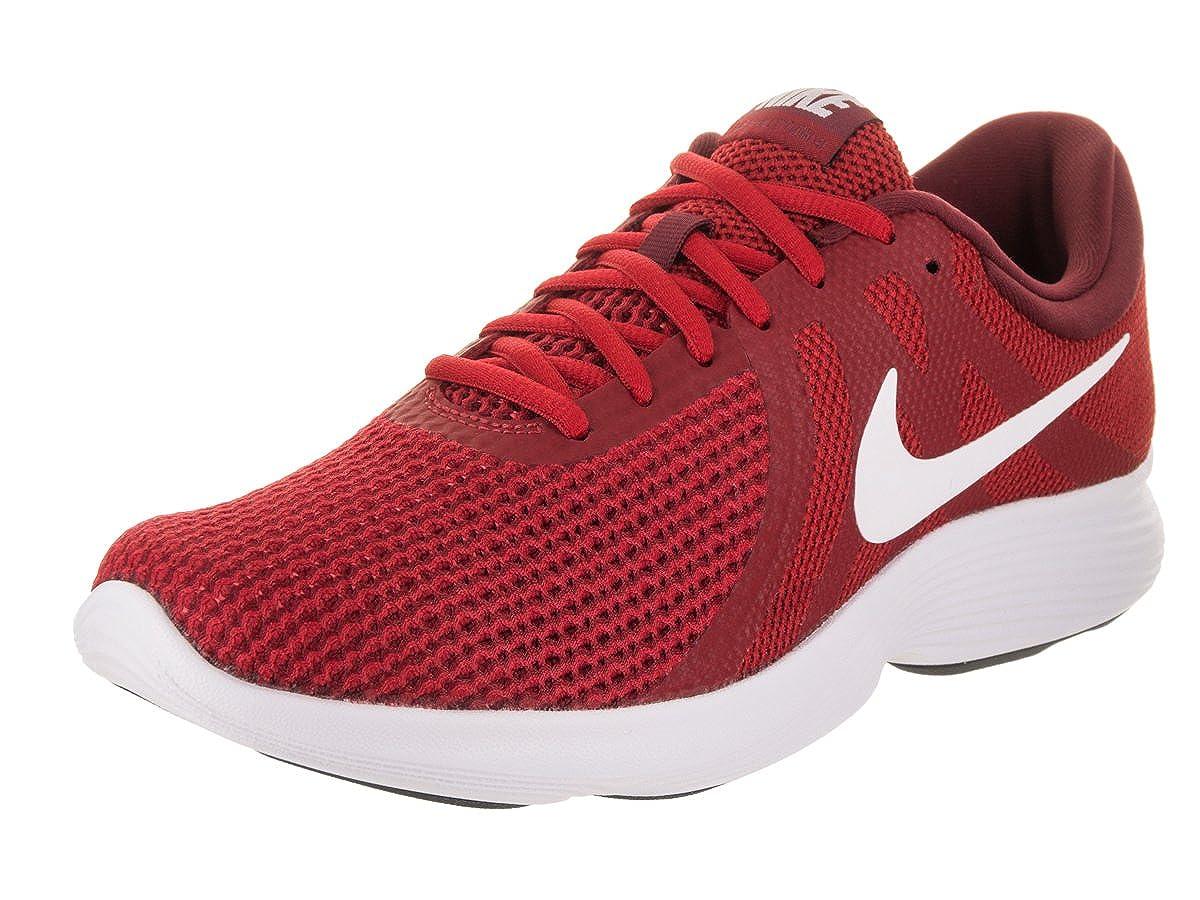 Gym rouge blanc Team rouge noir 47 EU Nike Revolution 4, Chaussures de FonctionneHommest Compétition Homme