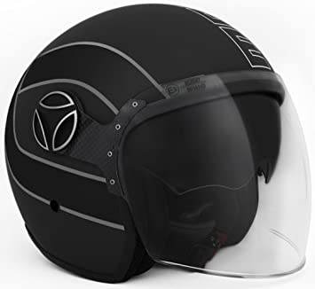 Momo 10140000035 Casco Moto, Arrow Black Matt, ML