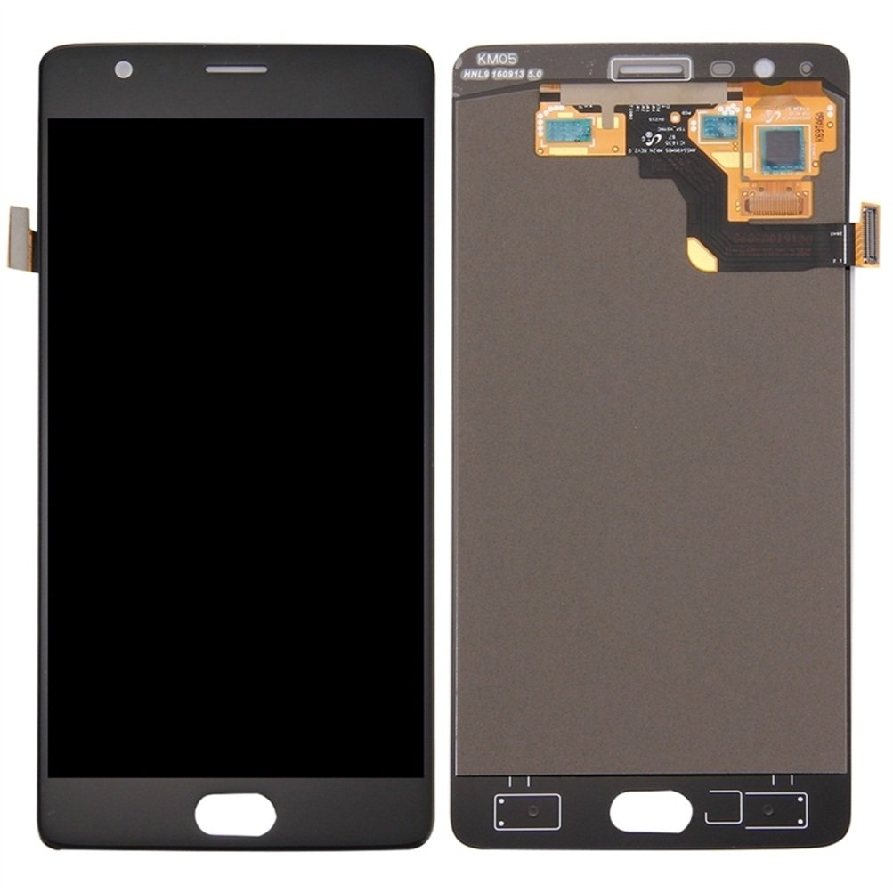iPartsBuy for OnePlus 3T LCD Screen + Touch Screen Digitizer Assembly (Black) by iPartsBuy (Image #1)