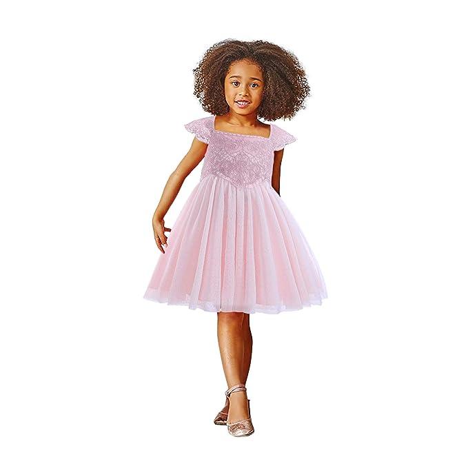 Amazon.com: Disfraz de princesa Elsa de Pettigirl para niña ...