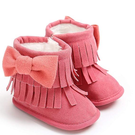pas cher pour réduction a0573 2c131 Bottillons Bébé Bottes Hiver bébé Chaussures Bebe Fille ...