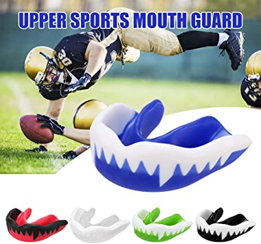 Sport Mouth Guard Teeth Protector Basketball Boxing Mouthguard Tooth ProtectP GR