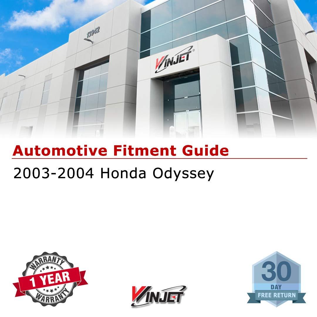 Wiring Kit 2003-2004 Honda Odyssey Clear Lens Driving Fog Lights Switch Winjet WJ30-0134-09 OEM Series for