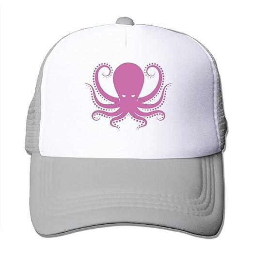Amazon.com  Octopus Mesh Hat Trucker Baseball Cap Ash  Clothing 005339daf81