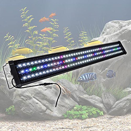 MegaBrand 36-43 Inch 129 LED Aquarium Lighting Fish Tank Light Fixture