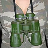 Sawan Shop 60x50 Powerful Wide Angle Green Camo Binoculars Day&Night Optics Military Army