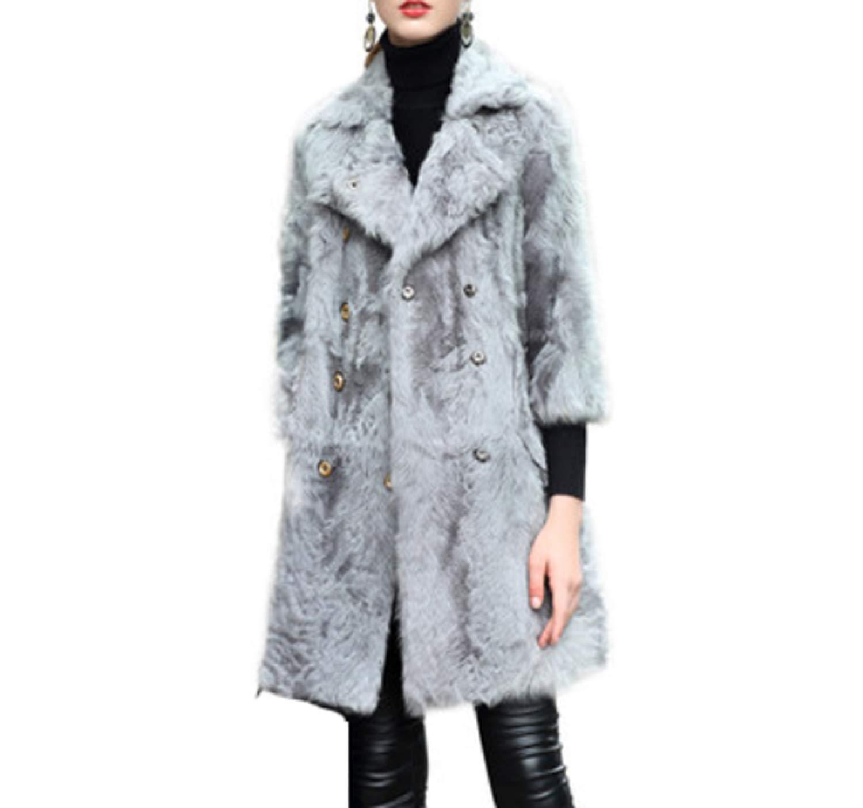 感謝の声続々! 女性のフェイクファージャケット風ロングコートダブルブレストパーカーオーバー XL XL|Gray B07JK1HDR6 XL|Gray B07JK1HDR6 Gray XL, ノーブルゴルフ:ed788d56 --- pizzaovens4u.com