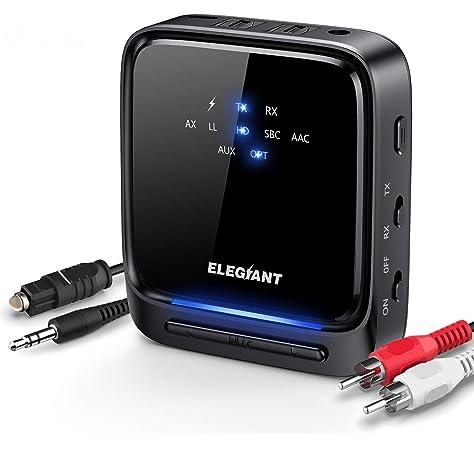 Avantree Audikast - Transmisor Bluetooth 4.2 para TV: Amazon.es ...