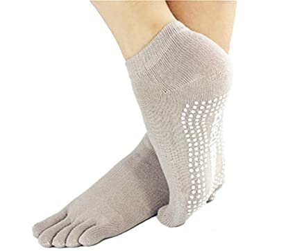 Calcetines de aldogón antideslizantes para hacer deporte, ...