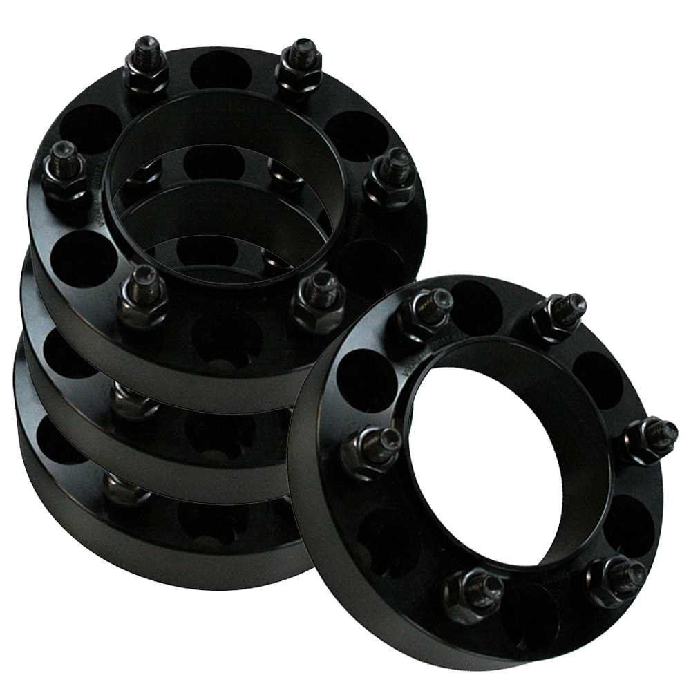 Prime Choice Auto Parts WSPKG0054 Front and Rear Set of Wheel Spacers 1.5 Inch Thick 6x5.5 inch Bolt Pattern