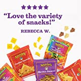 Annie's Variety Snack Pack, Cheddar Bunnies/Friends Bunny Grahams/Cheddar Squares, Baked Snack Crackers, 11 oz
