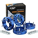 KSP 6X5.5 Wheel Spacers Fit for Tacoma 4runner, 1.5 inches Forged Hub Centric Adapters Kits fit 6 Lug Wheel (Package of…